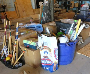 Some of the stuff. Hey, what does your basement look like?