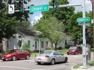 Traffic Chapel Street