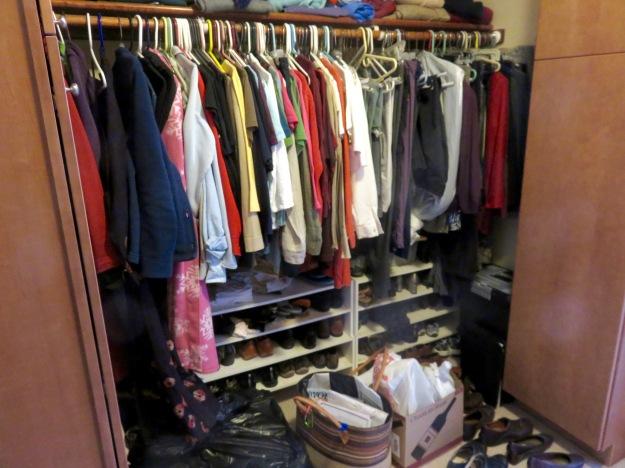 My closet -- before