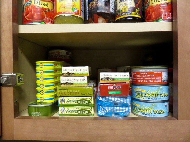 My canned fish collection