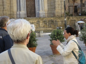 Seeing the sights in Palermo