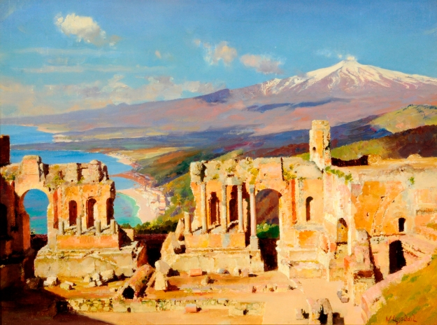 Logsdail,_William_—_Greek_Theatre,_Taormina,_Sicily_(The)_—1890-1900
